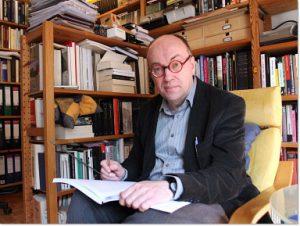 Im Arbeitszimmer in Köln 2008
