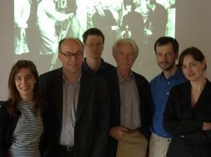 Mit Klaus Kreimeier und Mitarbeitern an der Universität Siegen 2006