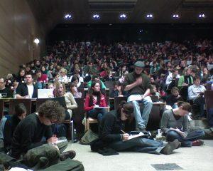 Vorlesung an der Universität Wien 2007